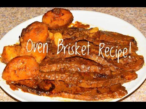 The Best Oven Brisket Recipe I've Ever Tried - Oven Beef Brisket Flat