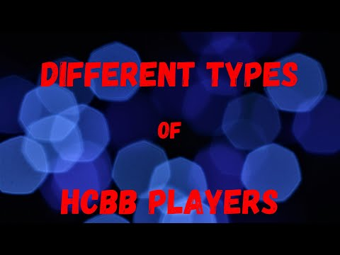 Different types of HCBB players