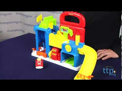 Little People Wheelies Garage From Fisher-Price