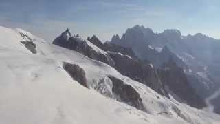 Aiguille Du Midi Mont Blanc Cable Car Gondola Chamonix Valley France