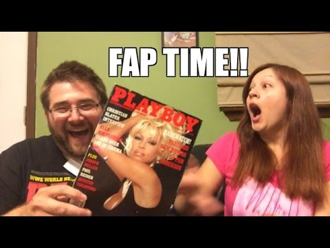 DIRTY MAGAZINE MADNESS! Wife HELPS Unbox Grims Toy Show FAN MAIL