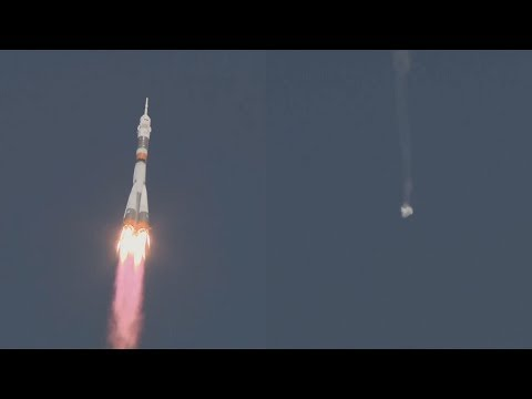 Launch of Soyuz MS-10