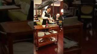 澳門美高梅酒店法國餐廳 寶雅座火焰pancake製作正式~ 一年去n次旅遊不是夢2019Apr澳門旅遊篇