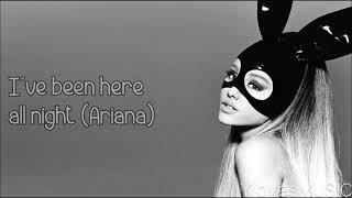 Lirik lagu side to side ( Ariana grande ft. Nicki minaj)