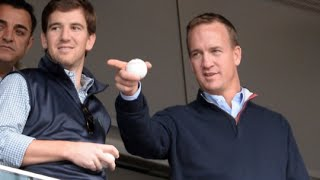 Eli Manning Reveals True Meaning Behind Brother Peyton's 'Omaha!' Audible