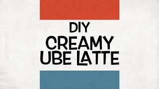 Associate Tutorials: Ube  Latte (A Serve 360 Project)