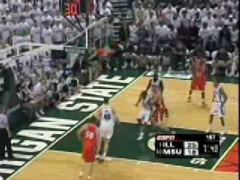 2004-2005: Illinois 81, MICHIGAN STATE 68