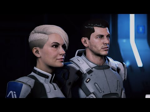 Mass Effect: Andromeda. Cora Romance