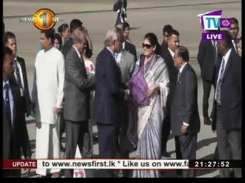 Malaysian Prime Minister arrives in Sri Lanka on 3 day state visit