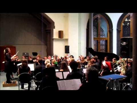 Glasgow University Music Club - Christmas Concert 2013 - Wind Band - With Each Sunset ...