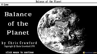 Balance of The Planet gameplay (PC Game, 1990)