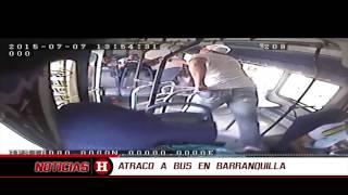 Así están atracando a pasajeros y conductores de buses en Barranquilla