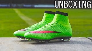 Unboxing | Nike Mercurial Superfly IV Electric Green | Cristiano Ronaldo Boot