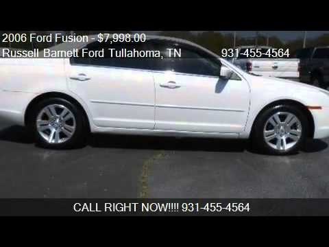 2006 ford fusion sel for sale in tullahoma tn 37388 youtube. Black Bedroom Furniture Sets. Home Design Ideas