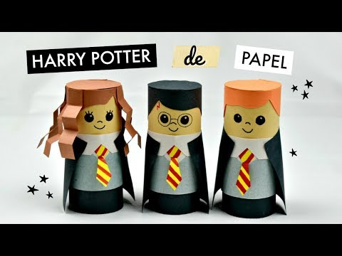 Harry Potter de Papel│Espacio Creativo