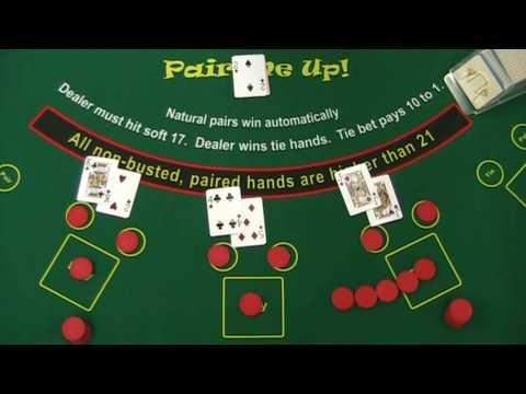 """拉斯维加斯赌城, Pair Me Up!  非21点, """"碰对子"""", 拉斯韦加斯,赌场, 非黑捷克"""