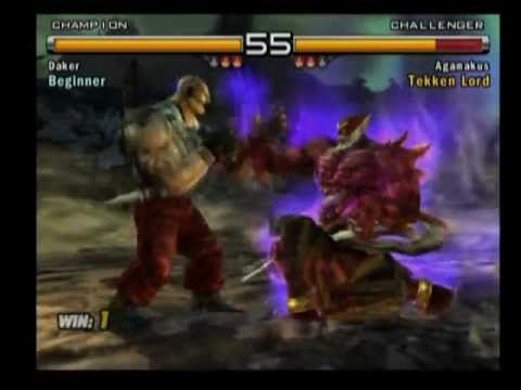 Tekken Jinpachi Vs Azazel