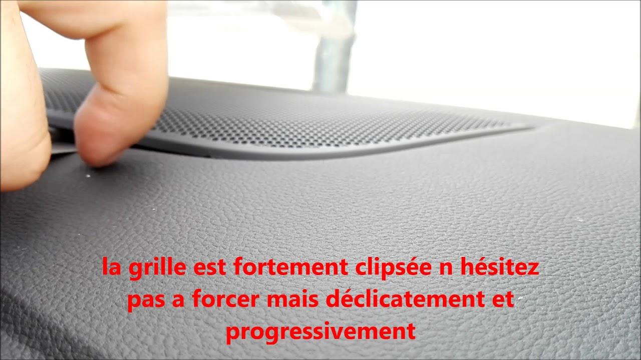 Tuto démontage tweeter avant Renault Megane 4/Disassembly front tweeter Renault Megane 4