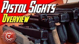 Different Types Of Pistol Sights - Stock, Tritium, Fiber Overview   Episode 49