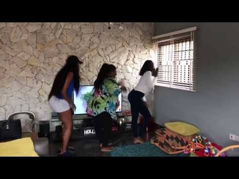YVONNE NELSON AND FRIENDS DANCE TO AKWAABA