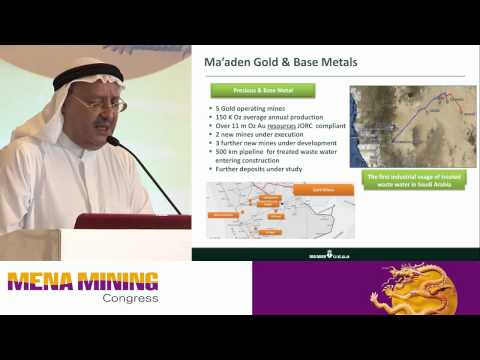Mining projects in Saudi Arabia