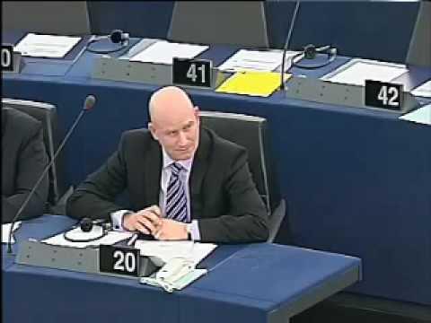 UKIP Paul Nuttall MEP confronts Barrosso on UK plant closures - Dec 2009