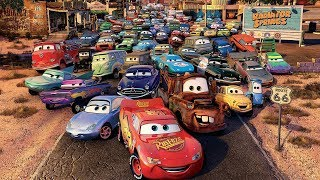 Disney PIXAR CARS All Characters Revealed #1