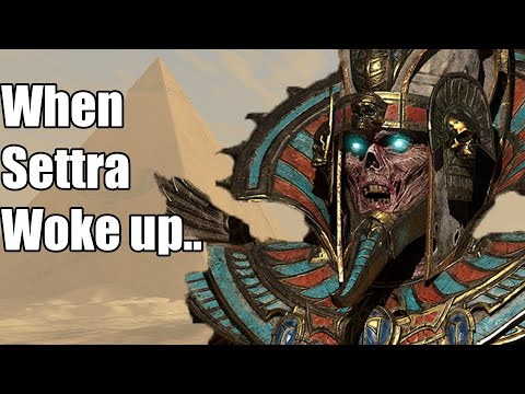 When Settra woke up..