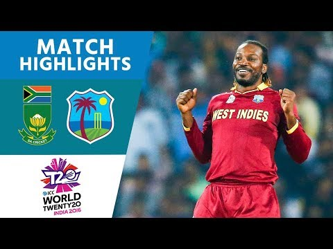 ICC WT20 South Africa vs West Indies  Match Highlights