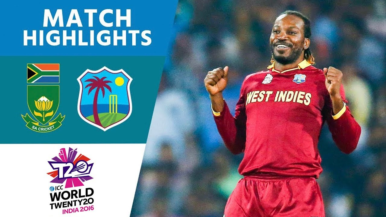 Windies Progress To Semis  South Africa Vs West Indies  Icc Mens Wt20 2016