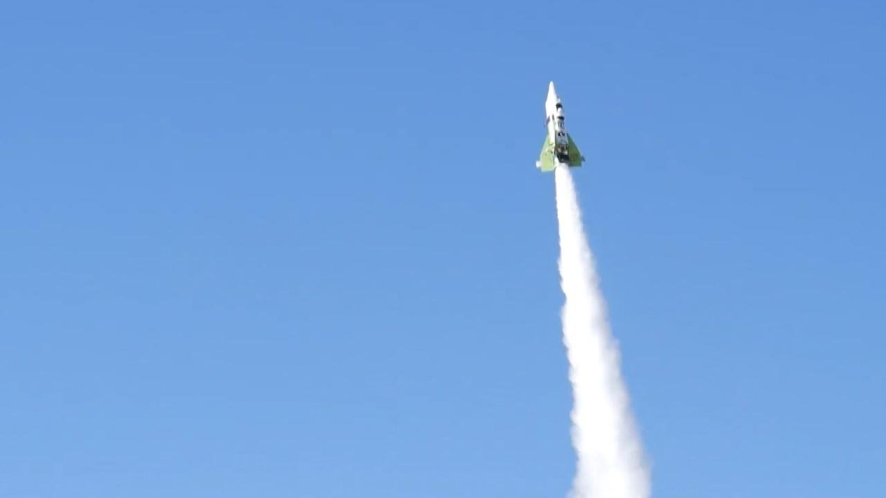Image result for Flat-Earther Blasts Himself into the Sky on Homemade Rocket (and He Survives)