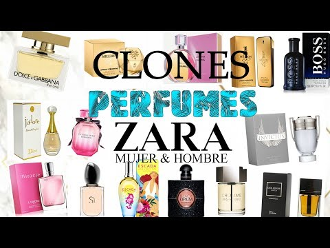 CLONES PERFUMES ZARA 2018 MUJER & HOMBRE // CLONES DE PERFUMES // V DE VERO STYLE💄
