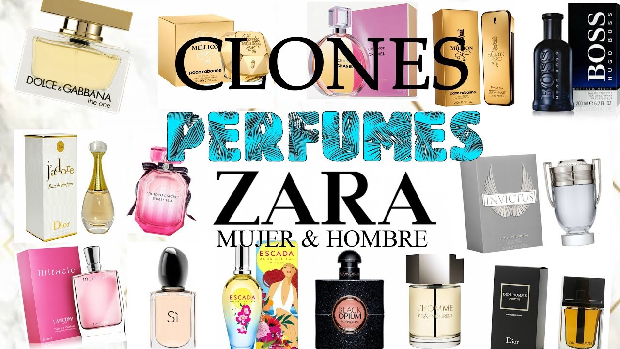 Perfumes baratos de marca mujer