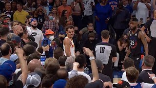 Trae Young vs Knicks Fans