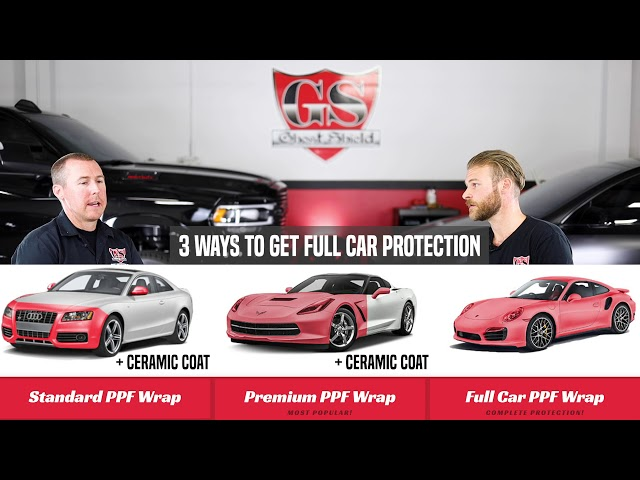 About Paint Protection Film and Ceramic Coat - Full Car Paint Protection