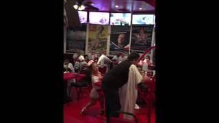 Geary getting Spanked by Hott Midget Nurse at Heart Attack Grill