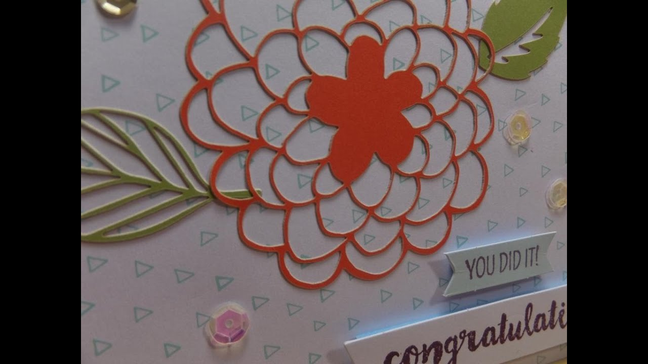 Card Making Ideas Youtube Part - 35: Card Making Ideas With February 2016 Paper Pumpkin - YouTube