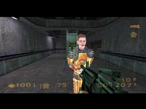 Half-Life PS2 Gameplay - Hazard Course / More