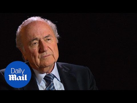 Sepp Blatter in first official FIFA interview since re-election - Daily Mail