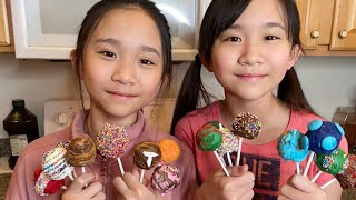 Who Makes the BEST CAKE POPS?! Janet or Kate?
