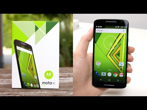 Motorola Moto X Play: Review & Unboxing (Deutsch) | SwagTab