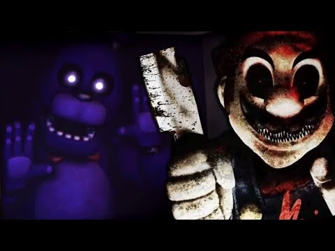 MARIO GETS ATTACKED BY THE FNAF ANIMATRONICS! | Mario in Animatronic Horror (Five Nights at Freddys)