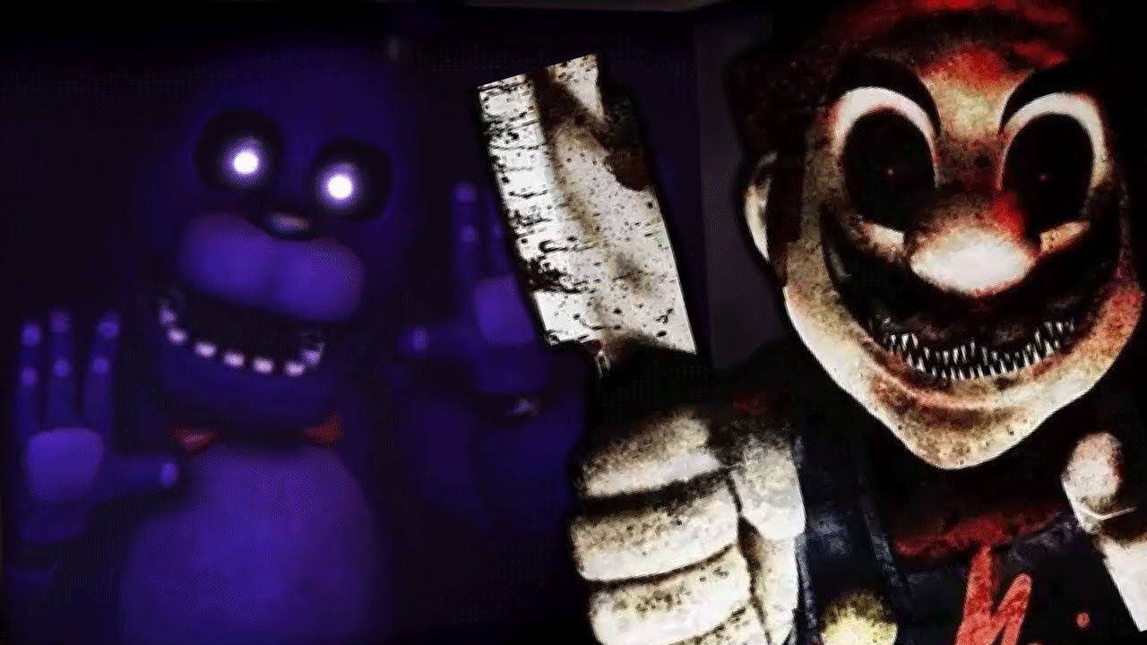 MARIO GETS ATTACKED BY THE FNAF ANIMATRONICS! | Mario in Animatronic Horror (Five Nights at Freddys) #1