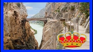Dizziness ride and extreme adventure in Malaga Spain 😱 Discover the King Path 👀