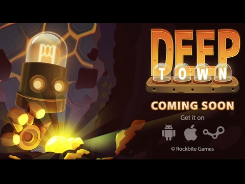 Deep Town: Mining Factory - Android Gameplay (by Rockbite Ga