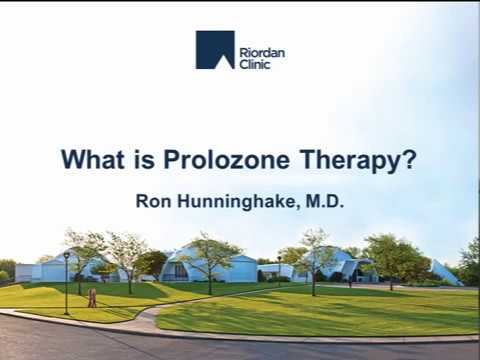 What Is Prolozone Therapy?