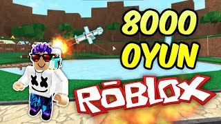 8000 DIFFERENT GAME! -Roblox