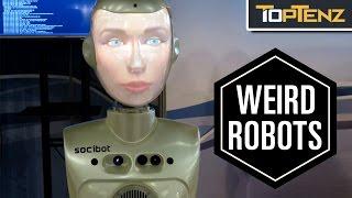 Top 10 CREEPY Real Life ROBOTS
