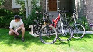 Build A Fifteen Buck Bike Rack