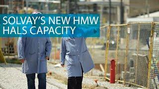 Solvay Willow Island - HMW HALS capacity now online